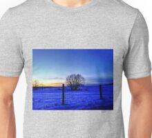 Night Falls On The Pasture Unisex T-Shirt