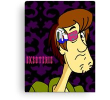 shaggy scouter Canvas Print