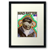 Roland Rat - Sunnies [Rainbow Stroke] Design Framed Print