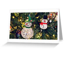 Snowman | Christmas | Holiday | Without Text Greeting Card