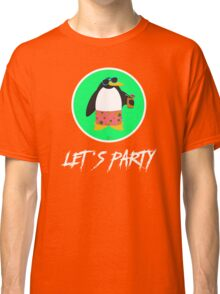 Let's Party Penguin Classic T-Shirt
