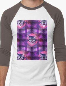 illuminati kitten Men's Baseball ¾ T-Shirt
