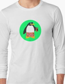 Party Penguin Long Sleeve T-Shirt