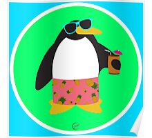 Party Penguin Poster