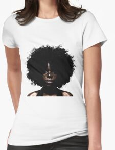 Her Eyes Have Seen. She Knows Womens Fitted T-Shirt