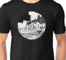 Dinosaur in the Bay of Fundy Unisex T-Shirt