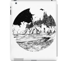 Dinosaur in the Bay of Fundy iPad Case/Skin