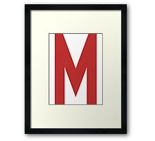 Mighty Max's T-Shirt Framed Print