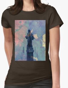 Dreams Of Smoke Womens Fitted T-Shirt