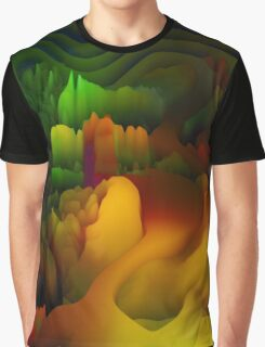 Donuts Abstract 13 Graphic T-Shirt