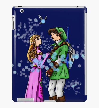 Princess Zelda and Link iPad Case/Skin
