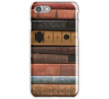 Old Books Stacked iPhone Case/Skin