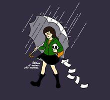 When it Rains, She enjoys Unisex T-Shirt
