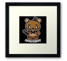 Hello Freddy Framed Print