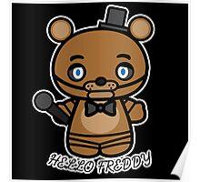Hello Freddy Poster