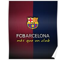 FCB Barcelona  Poster
