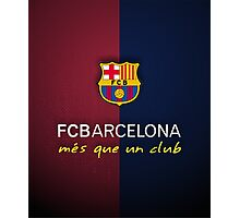 FCB Barcelona  Photographic Print