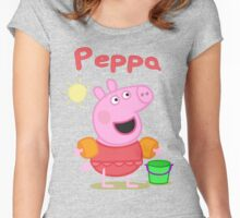 peppa 2 Women's Fitted Scoop T-Shirt