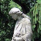 Cemetery Statue in Chambersburg, PA by Kimberly Scott