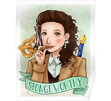 Elaine Benes from Seinfeld Poster