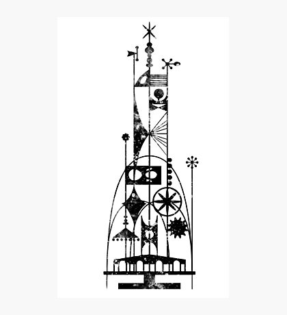 64/65 World's Fair - Tower of the Four Winds Photographic Print