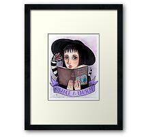 I Myself Am Strange and Unusual Framed Print