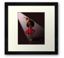 Sweet Cherry Cake Iman Framed Print