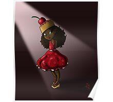 Sweet Cherry Cake Iman Poster