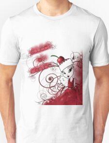 Sweet Cherry Cake Iman Unisex T-Shirt