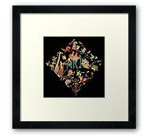 Zootopia duvet covers Framed Print