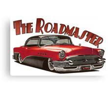 1955 Buick Roadmaster - Red 3 Canvas Print