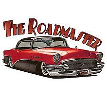 1955 Buick Roadmaster - Red 3 Photographic Print