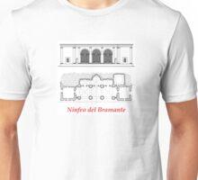 Ninfeo del Bramante Unisex T-Shirt