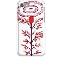 marigold flower illustration iPhone Case/Skin