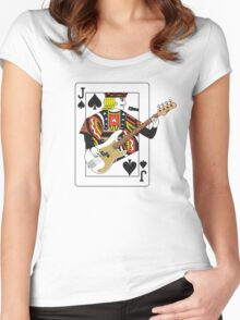 Jack Bass P Women's Fitted Scoop T-Shirt