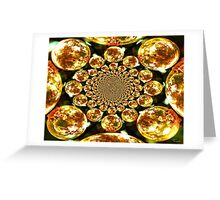 Martian Gold Greeting Card