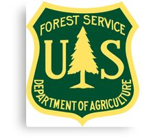 US Forest Service  Canvas Print