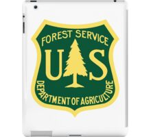 US Forest Service  iPad Case/Skin