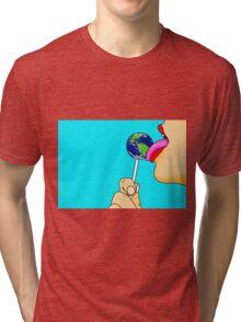 World-Wide-Lick Tri-blend T-Shirt