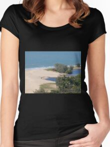 Heading up to Port Douglas N. Qld . Women's Fitted Scoop T-Shirt