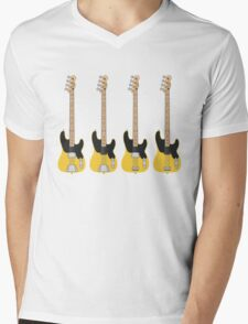 '51 P-Bass '57 P-Bass Mens V-Neck T-Shirt