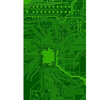 Circuit Board Photographic Print