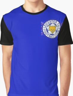 Leicester City F.C. Flag Graphic T-Shirt