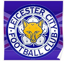 Leicester City F.C. Flag Poster