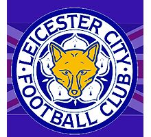 Leicester City F.C. Flag Photographic Print