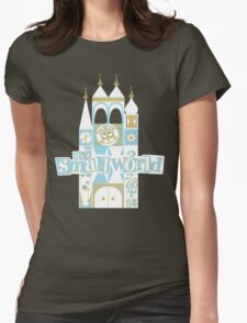 it's a small world! Womens Fitted T-Shirt