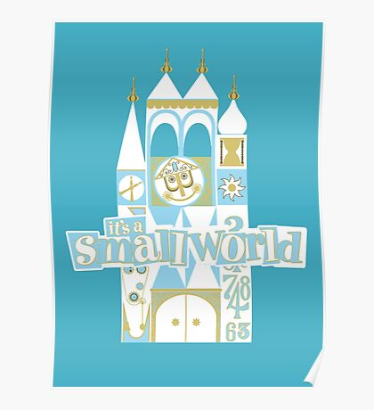 it's a small world! Poster