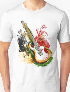Electric guitar. T-Shirt