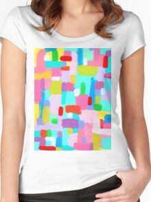 BUBBLEGUM DREAM Women's Fitted Scoop T-Shirt
