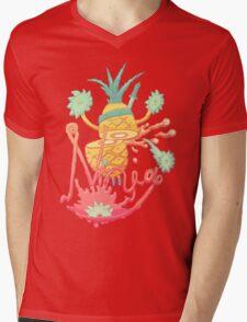 Ninja pineapple Mens V-Neck T-Shirt